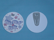 Button Tag with Contour Clip is Child-safe & Clothing-Safe