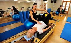 Upper back help with Allegra Reformer exercises