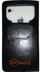 iphone 4 cell phone radiation case-rfsafe flip case radiation shield