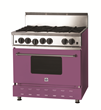 BlueStar®, Unleash Your Inner Chef™ - Range Shown in Radiant Orchid, PANTONE 2014 Color of the Year