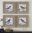 Uttermost Black And White Birds Art 55008