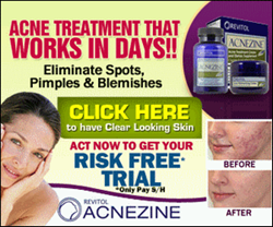 Revitol Acnezine Skin Care Management System Clears Acne In Weeks