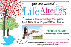 Spring Fling Relationship Rant Twitter Party