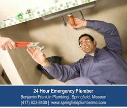 Emergency Plumber Springfield MO - Benjamin Franklin Plumbing
