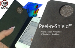 Peel-n-Shield™ Cell Phone Radiation Shields