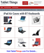 Best iPad Air Cases – Top 7 iPad Air Smart Covers Reviewed by Tablet...