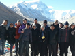 The first tour group to Tibet Everest Base Camp in 2014 was from Tibet Travel Org CITS.