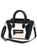 fashion bag, oasap bag, color block bag, simle face bag