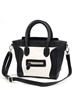fashion bag, oasap bag, color block bag, simle face bag