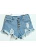 oasap shorts, fashion shorts, denim shorts