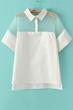 oasap blouse, fashion blouse, semi-sheer blouse, high-low blouse