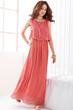 fashion dress, oasap dress, maxi dress, sleeveless dress, chiffon dress