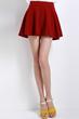 oasap skirt, fashion skirt, mini skirt, pure color skirt