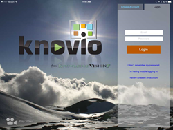 Knovio free video presentation app for iPad