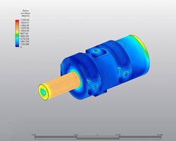 FEA (finite element analysis) results for Dura-Link