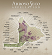 Map Arroyo Seco AVA