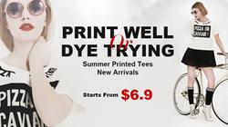 oasap tees, fashion tees, printed tees, summer tees
