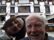 An 82-year old American visited Tibet in May 2013.