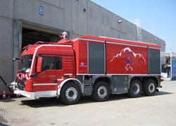BAI VSAT 13000 S Fire Truck