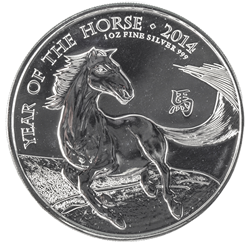 2014 Year of the Horse commemorative coin