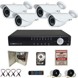 Best CCTV System Announced Its 4-Channel Camera Security Systems