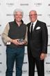 Architect Adolfo Perez and Clarke CEO Tom Clarke at Clarke's Kitchen Design Awards in 2014.