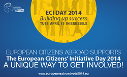 European Citizens Abroad support ECI Day
