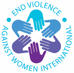 End Violence Against Women International logo