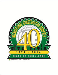 ICE 40th Anniversary Logo