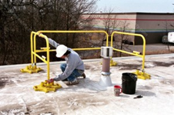 Collapsible Guardrail System