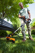 WORX 32V 2.0 GT Trimmer/Edger/Mini-mower has plenty of torque to get jobs done