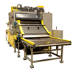 Davron Indexing Conveyor Oven Double Preheating Rate for Car Carpet