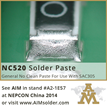 AIM Solder Brings Two Newly Developed Solder Pastes to NEPCON China...