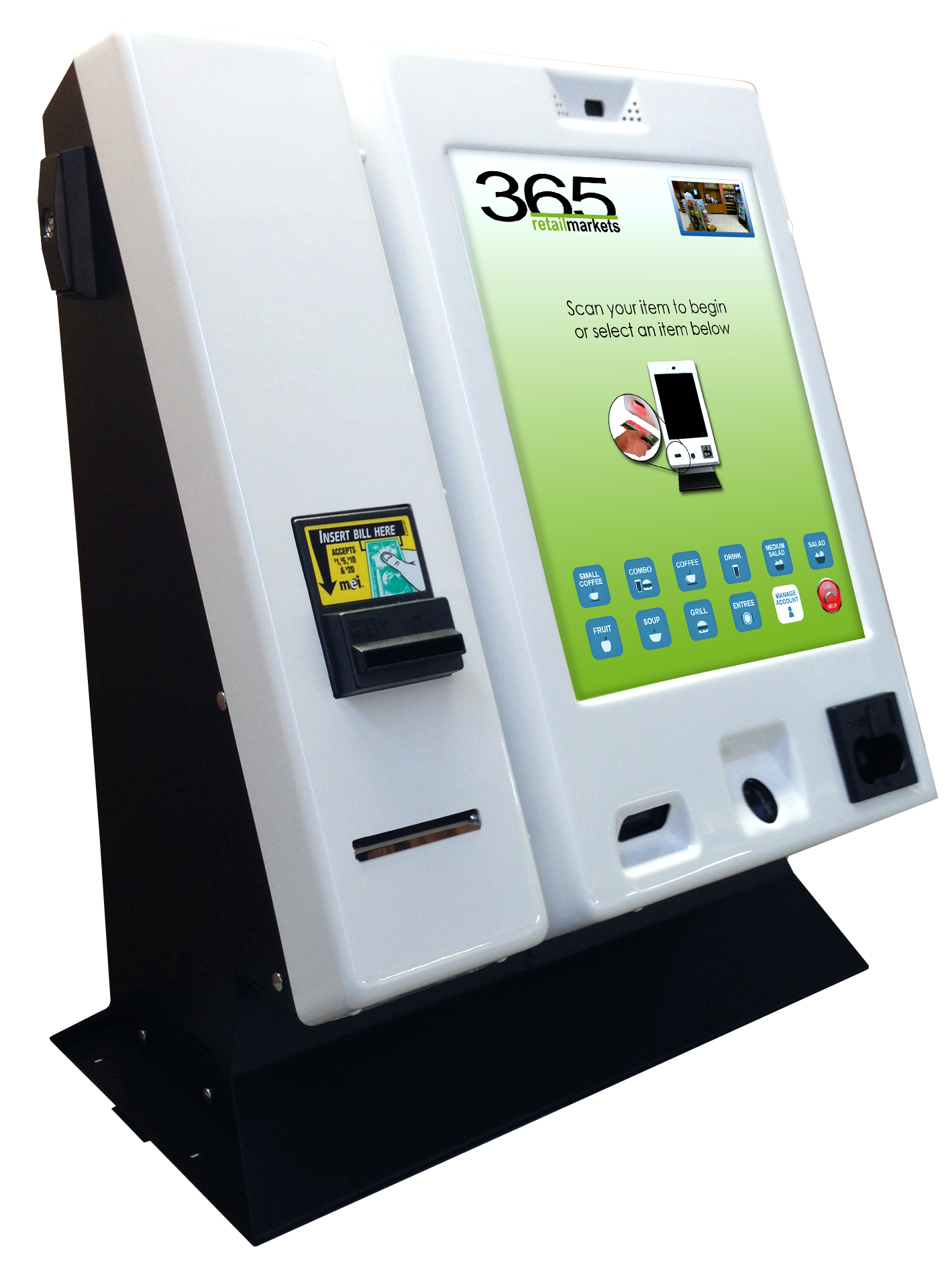365 Unveiled New Gen3c Kiosk at the 2014 NAMA OneShow