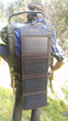 The SunJack Solar Charger Unfolds to Four Panels