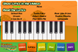 Piano Touch Screen