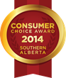 2014 Southern Alberta Consumer Choice Award Winners