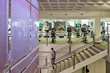 Ely Campus Center's renovation included the expansion of the fitness area into a new two-story wellness center.