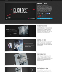 FCPX Themes - Final Cut Pro X Templates - Pixel Film Studios - Exhibit Twist