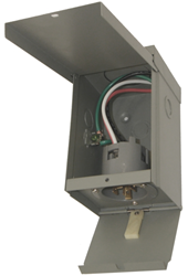 Rainproof Generator Power Inlet Box