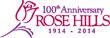 Rose Hills 100 Anniversary Logo