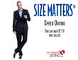 """Size Matters"" Speed Dating For Tall Gay Singles 5'11+"