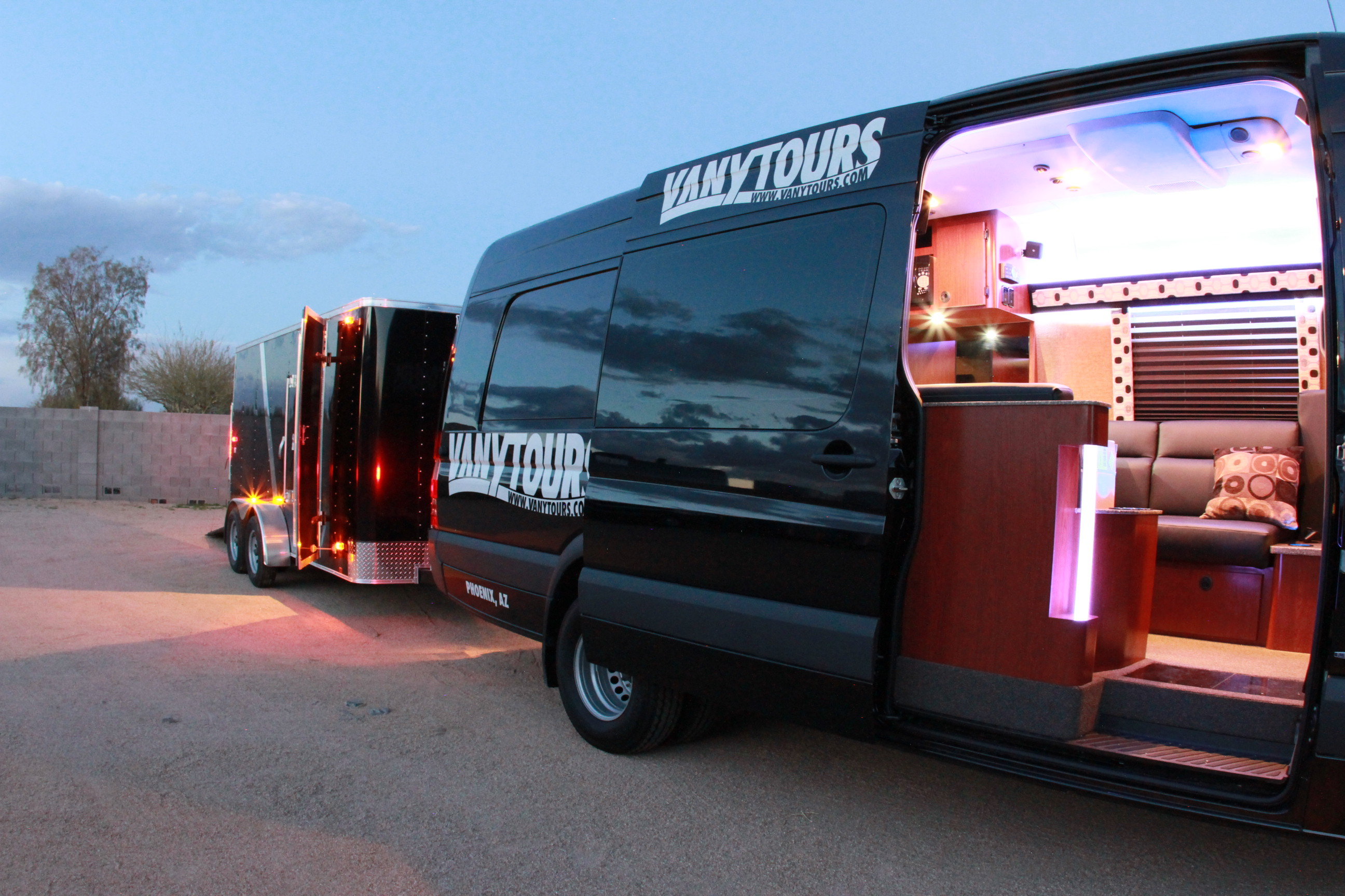 Van Y Tours Adds Three New Luxury Vans To Its Rental Ranks