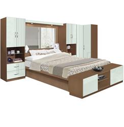 Studio Pier Wall Bed with Corner Closet