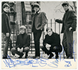 Rolling Stones Autographed Promo card