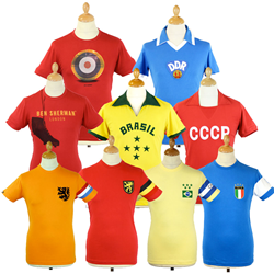 Some of the Football Fever range available at Atom Retro