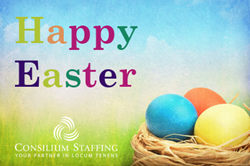 Happy Easter Consilium Staffing