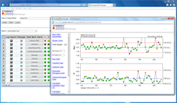 This is a screen shot of the Synergy 3000 Web Manager Application
