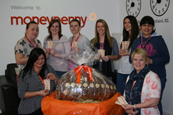 Giant Easter egg at Moneypenny