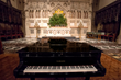 Yamaha grand piano in Trinity Wall Street Church